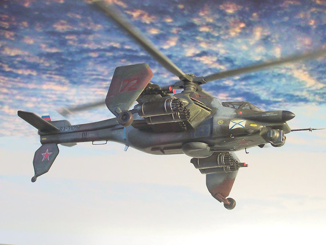 "1:72 Russian Helicopters/Mil Mi-62K (NATO ""Hepcat B""), aircraft ""72 Red/RA-31098"" of 125th OVP, Naval Aviation of the Baltic Fleet of Russia; Chkalovsk AB, 2015 (Whif/Kotobukiya kit conversion)"