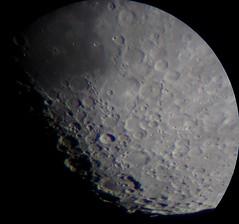 Moon Mar 10th, close on moon`s south pole
