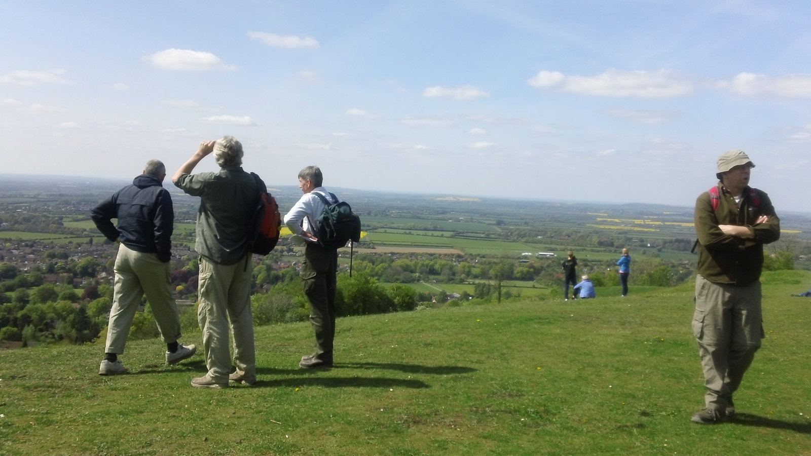 ....'No, they've gone...' Whiteleaf Hill