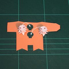 วิธีทำโมเดลกระดาษตุ้กตาคุกกี้รัน คุกกี้ผู้กล้าหาญ แบบที่ 2 (LINE Cookie Run Brave Cookie Papercraft Model Version 2) 003