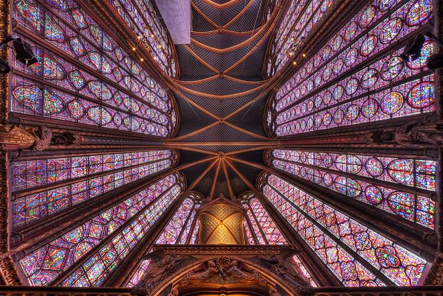 Sainte-Chapelle - Paris (upper Chapel)