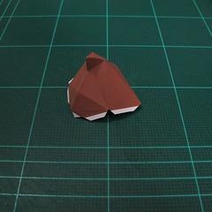 วิธีทำโมเดลกระดาษตุ้กตา คุกกี้สาวผู้ร่าเริง จากเกมส์คุกกี้รัน (LINE Cookie Run – Bright Cookie Papercraft Model) 004