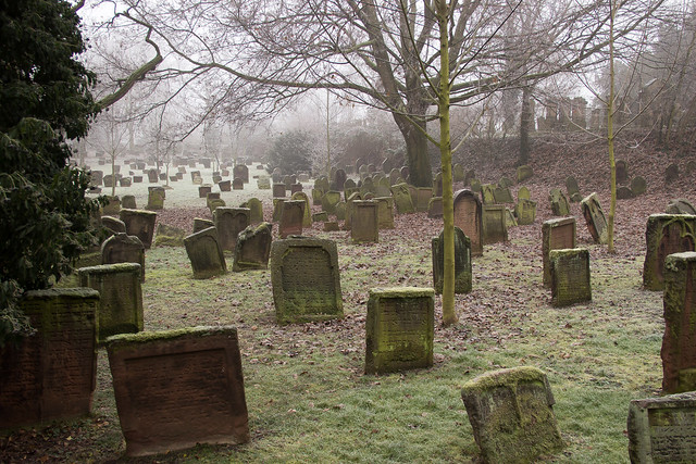 The oldest Jewish cemetery in Europe - Heiliger Sand (Holy sand)