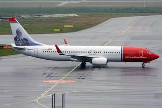 Norwegian (Frits Thaulow livery), LN-NGL, Boeing 737-8JP | by Anna Zvereva