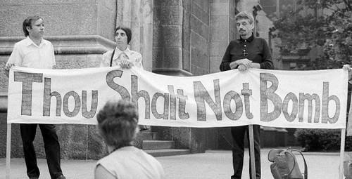 Dan Berrigan - Thou Shalt Not Bomb
