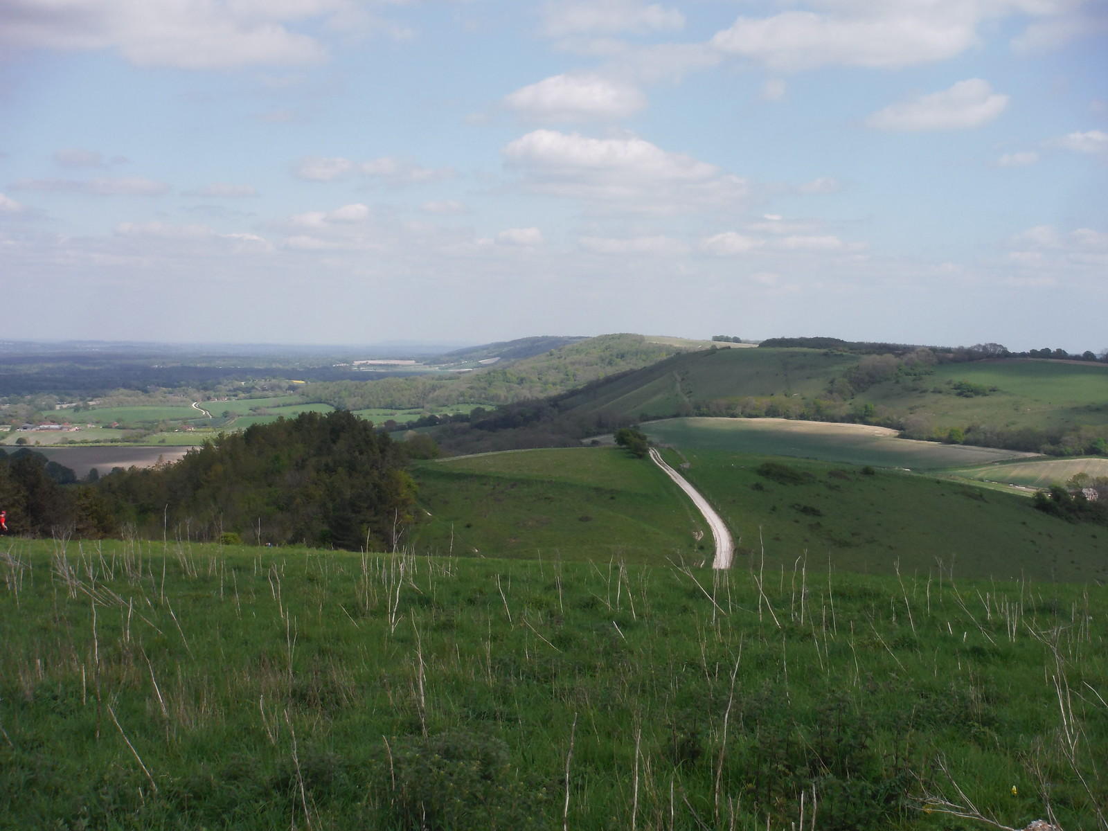 Easterly Views from Pen Hill SWC Walk Rowlands Castle Circular - Extension