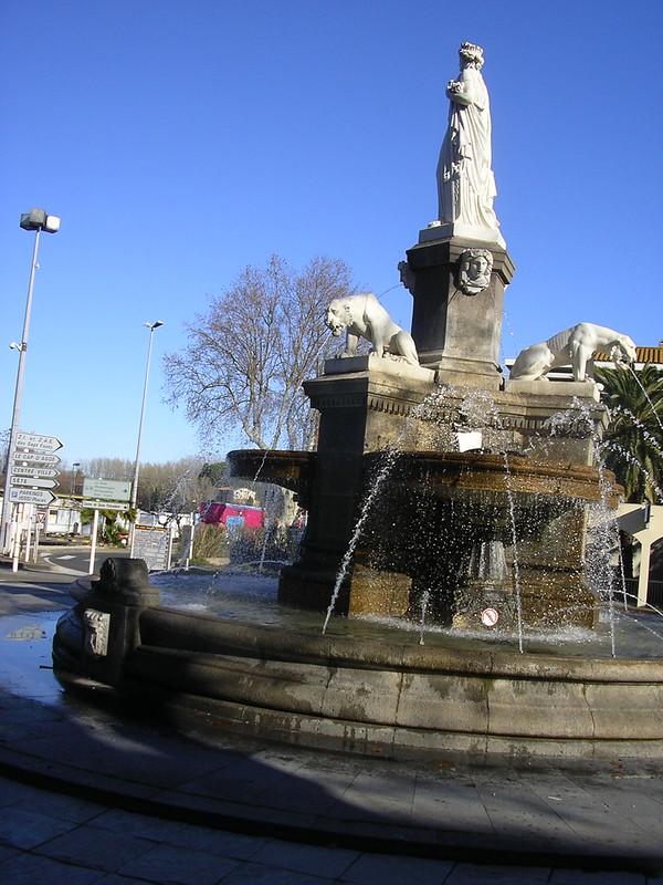 Font a la ciutat d'Agde