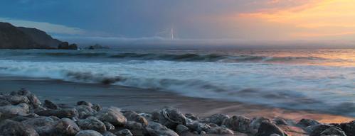 california sunset beach pacifica rockaway