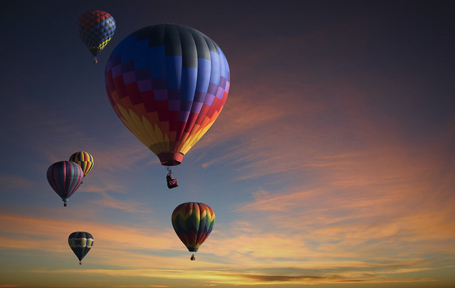 Balloon Fest Composite Just for fun