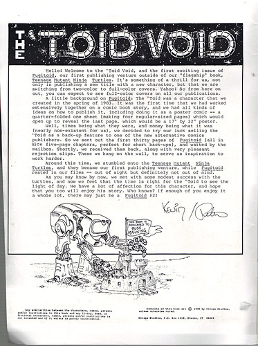 "The Original ""FUGITOID #1"" ii // 'TOID VOID' (( 1985 )) by tOkKa"
