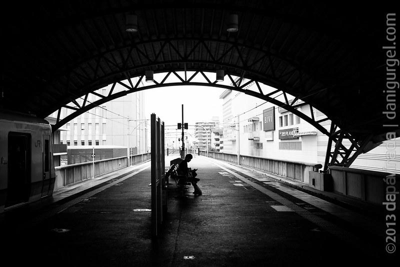 Sagaarashiyama Train Station