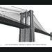Brooklyn Bridge in Letterpress Type by Cameron Moll