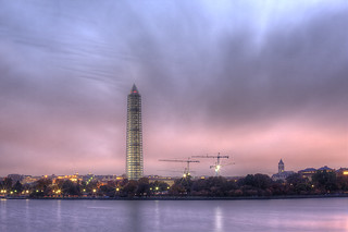 Sunrise Over the Tidal Basin | by A B Pan