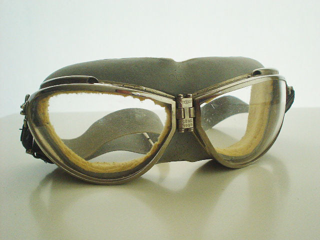 coupon code sale footwear NEW NOS CEBE 4000 French Pilot Aviator 40's GOGGLES Vintag ...