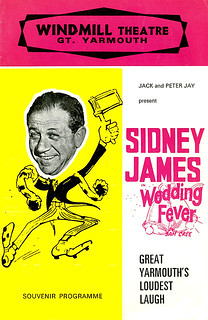 Sidney James in Wedding Fever - Windmill Theatre, Great Yarmouth