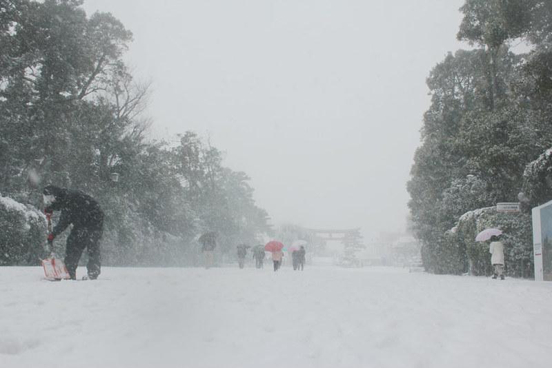 雪の鎌倉_31