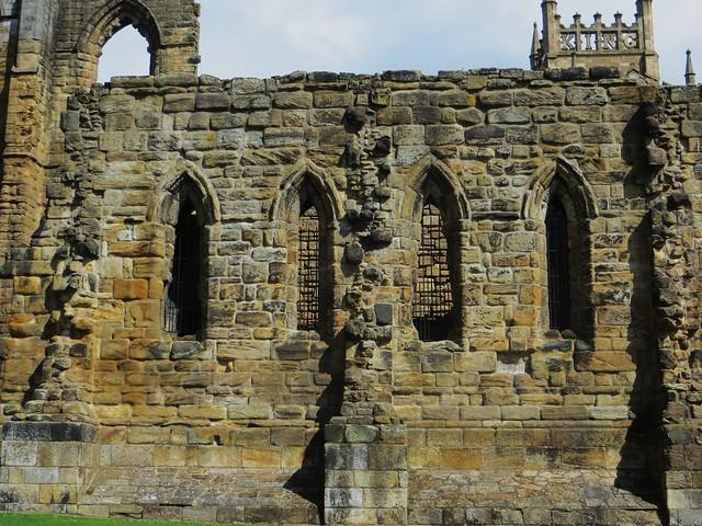 Ruines du réfectoire, abbaye romane, Dunfermline, Fife, Ecosse, Grande-Bretagne, Royaume-Uni.