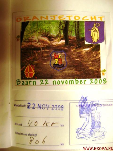 Baarn 40 Km    22-11-2008 (88)