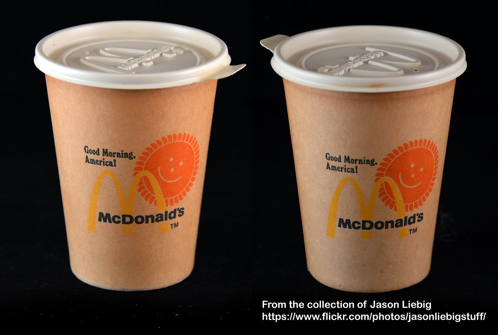 Mcdonalds Good Morning America Paper Coffee Cup Food Flickr