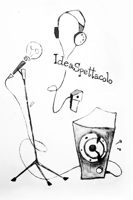 IdeaSpettacolo - T-shirt sketch