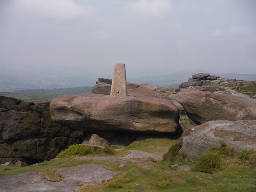 Trigpoint on Stanage Edge South (457m)