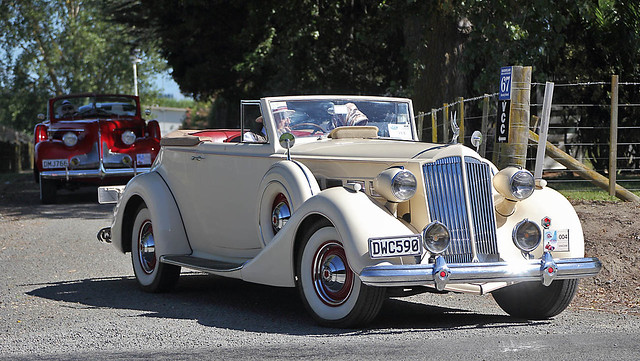 1937 Packard Victoria Super 8 Convertible