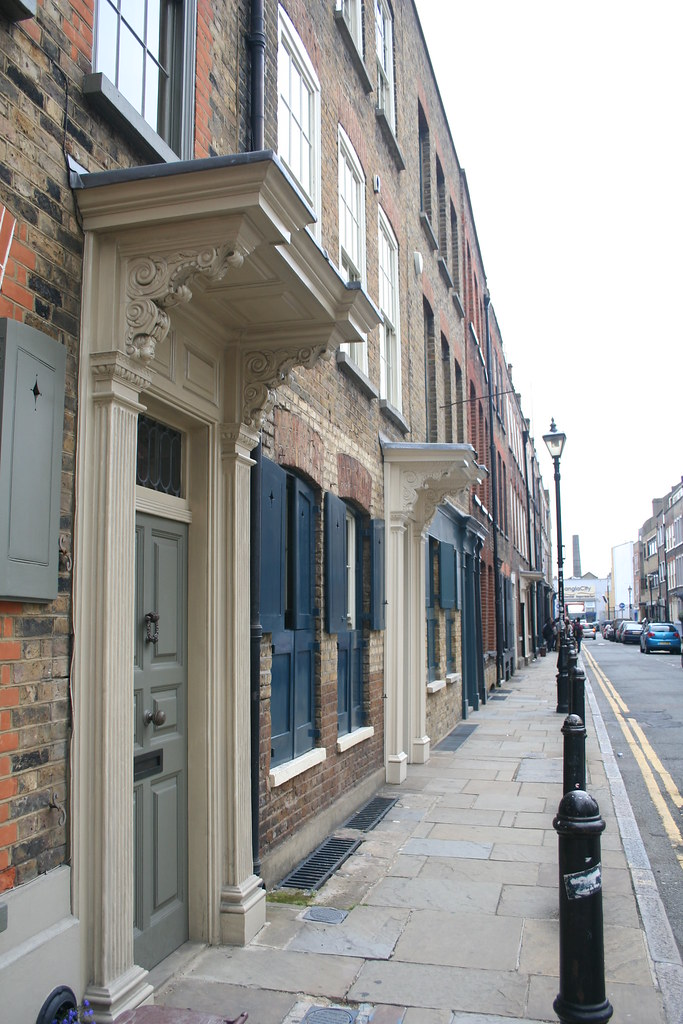 Spitalfields London: Fournier Street, Spitalfields, London E1
