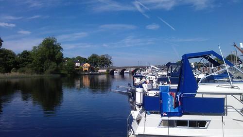blue ireland summer sky sun sunshine june relax boat time summertime leitrim mycontacts rivershannon carrickonshannon
