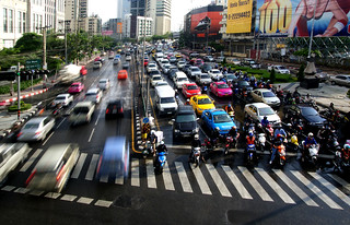 Traffic Bangkok. | by Bernard Spragg
