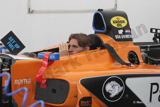 Meindert van Buuren in Auto GP at Donington Park