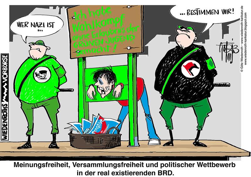 Wiedenroth-Karikatur