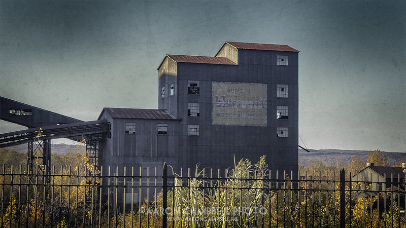 Huber Coal Breaker (detail #2), 2013.11.01