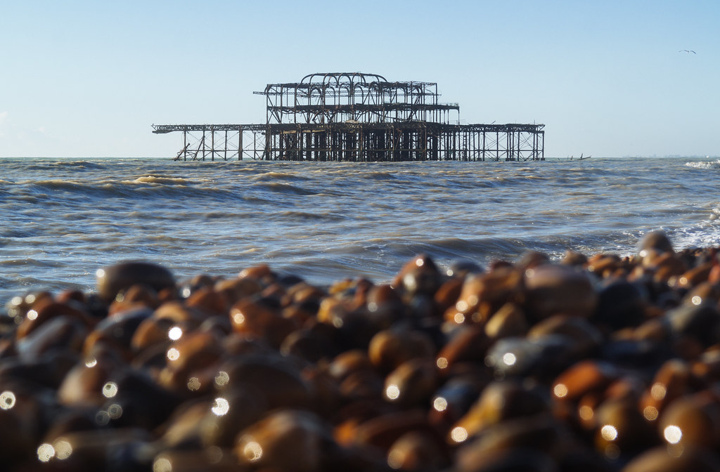 New Bit Missing From West Pier