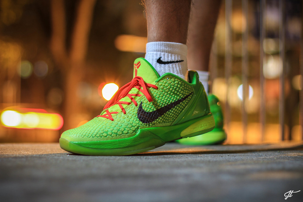 various colors 423df 3aaca ... Nike Zoom Kobe VI Grinch pt 4   by jht3