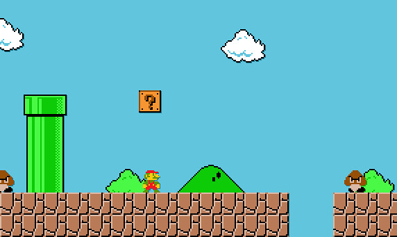 Super Mario Bros Pixel Art Dylan Baugh Flickr