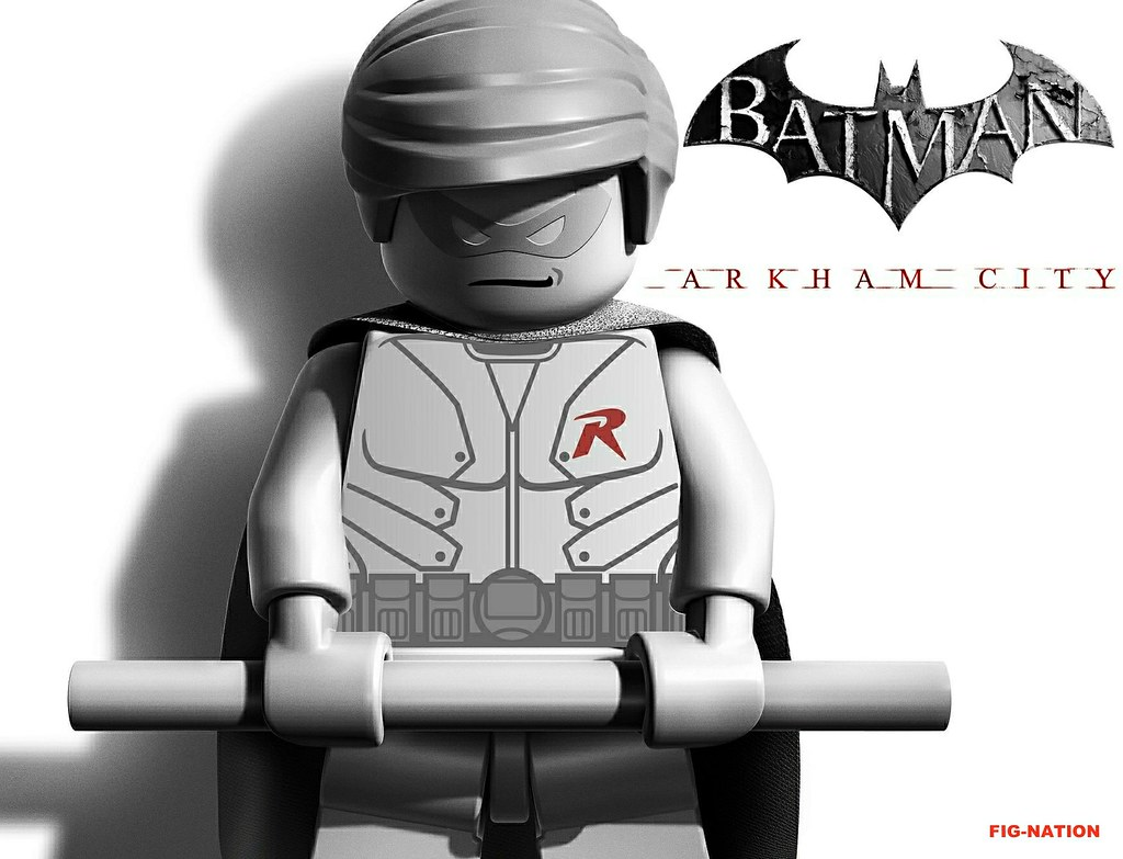 Lego arkham city promo robin