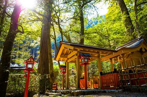 wholly holy (Kifune shrine, Kyoto)