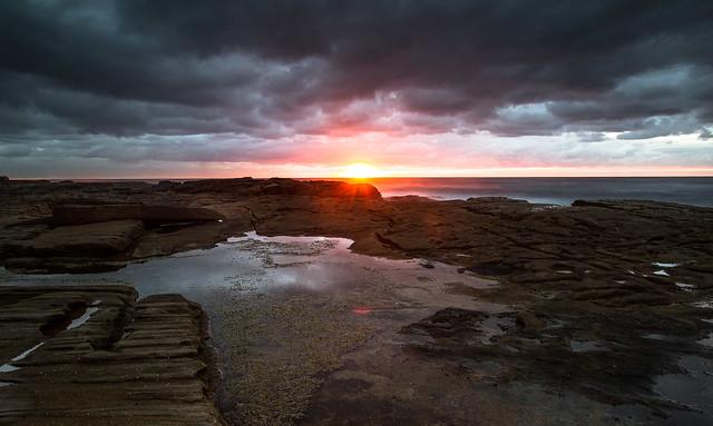 Sunrise at Little Bay