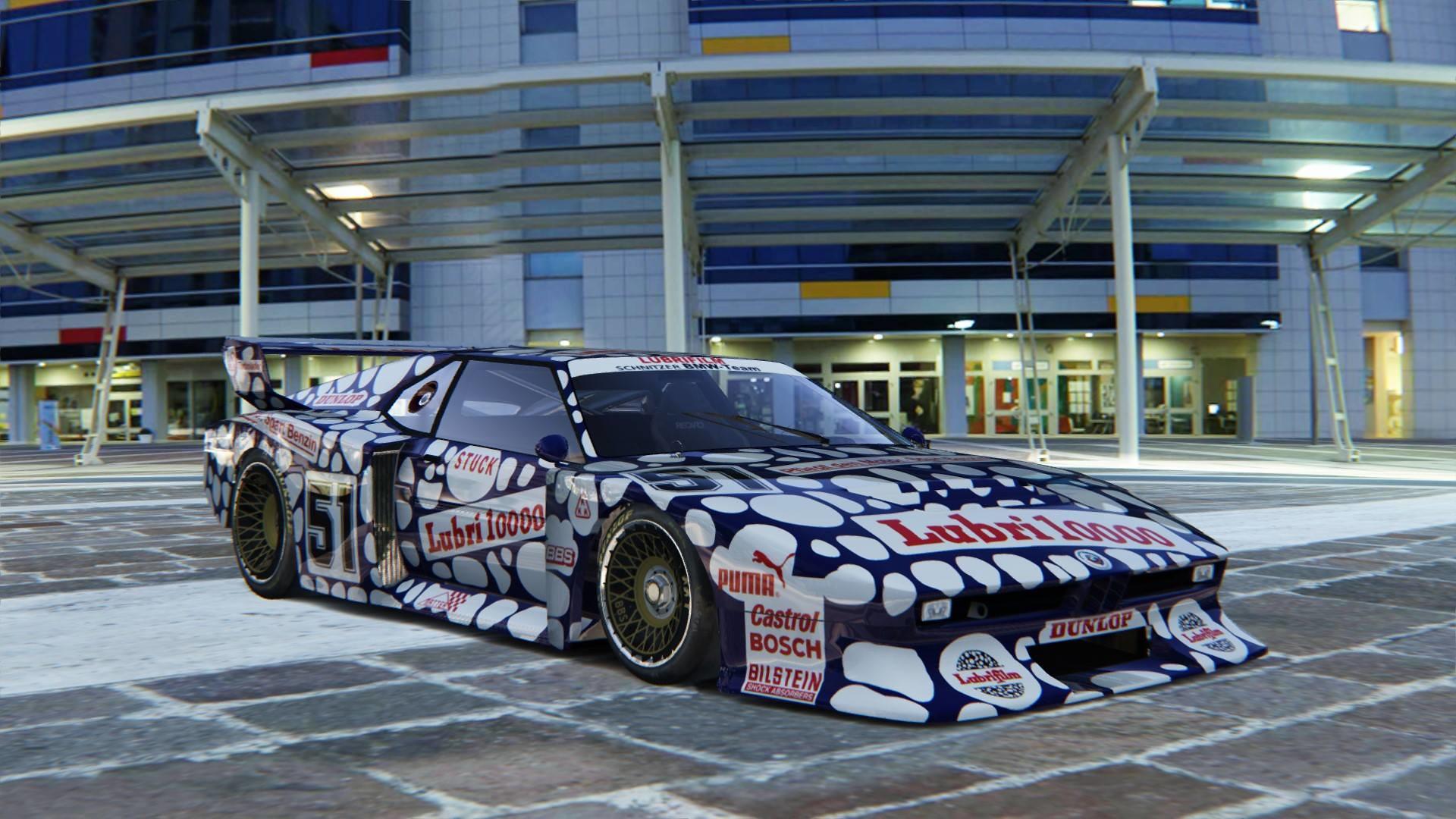 DRm Modding Team BMW M1 Turbo