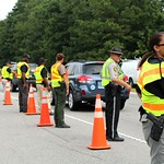 August 27, 2015 - 11:03 - Camden County Hands Across the Border Checkpoint.Credit: Tiffany Mentzer, Camden County Sheriff's Office