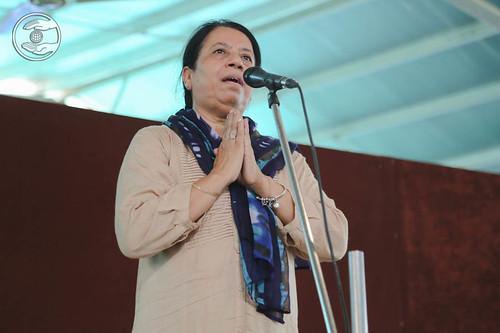 Kavita Bekal from Sant Nirankari Colony, Delhi, expresses her views