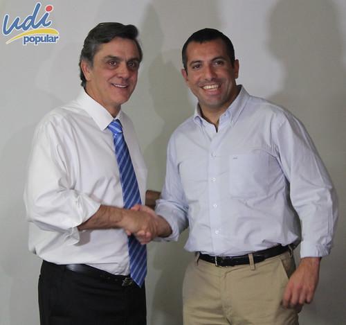 Pablo Longueira junto a parlamentarios de la UDI | by Unión Demócrata Independiente
