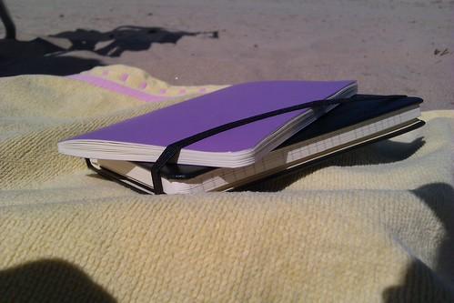 Moleskine en la playa 1