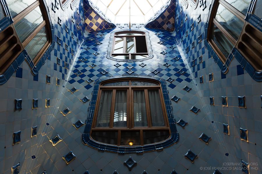 Casa Batlló Patio Interior Nikon D4 24 70mm F28g Ca