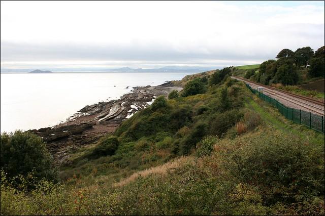 Between Kinghorn and Kirkcaldy