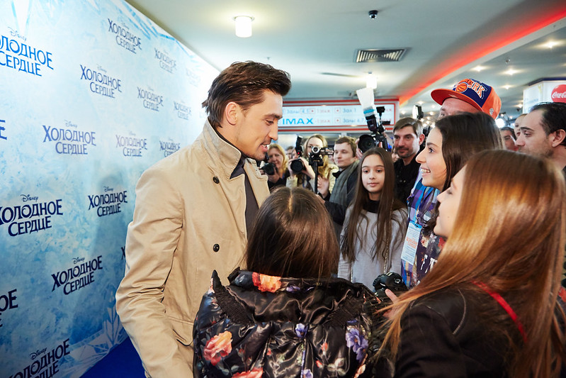 FROZEN_Moscow Premiere_Dima Bilan_1