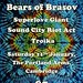 Bears of Brasov, Super Love Giant, Sound City Riot Act and Troika, Cambridge Portland Arms, 11.1.14