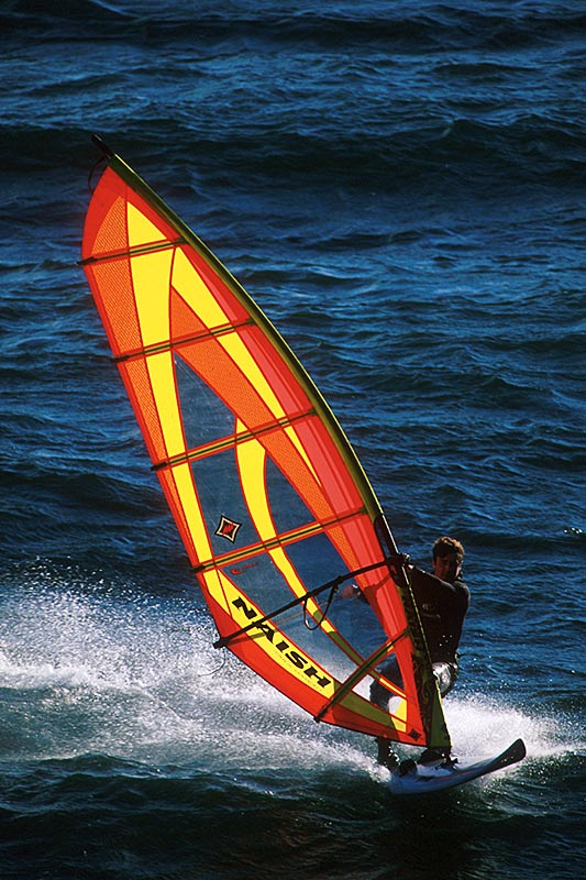 Windsurfing; Outdoor Recreation in British Columbia, Canada