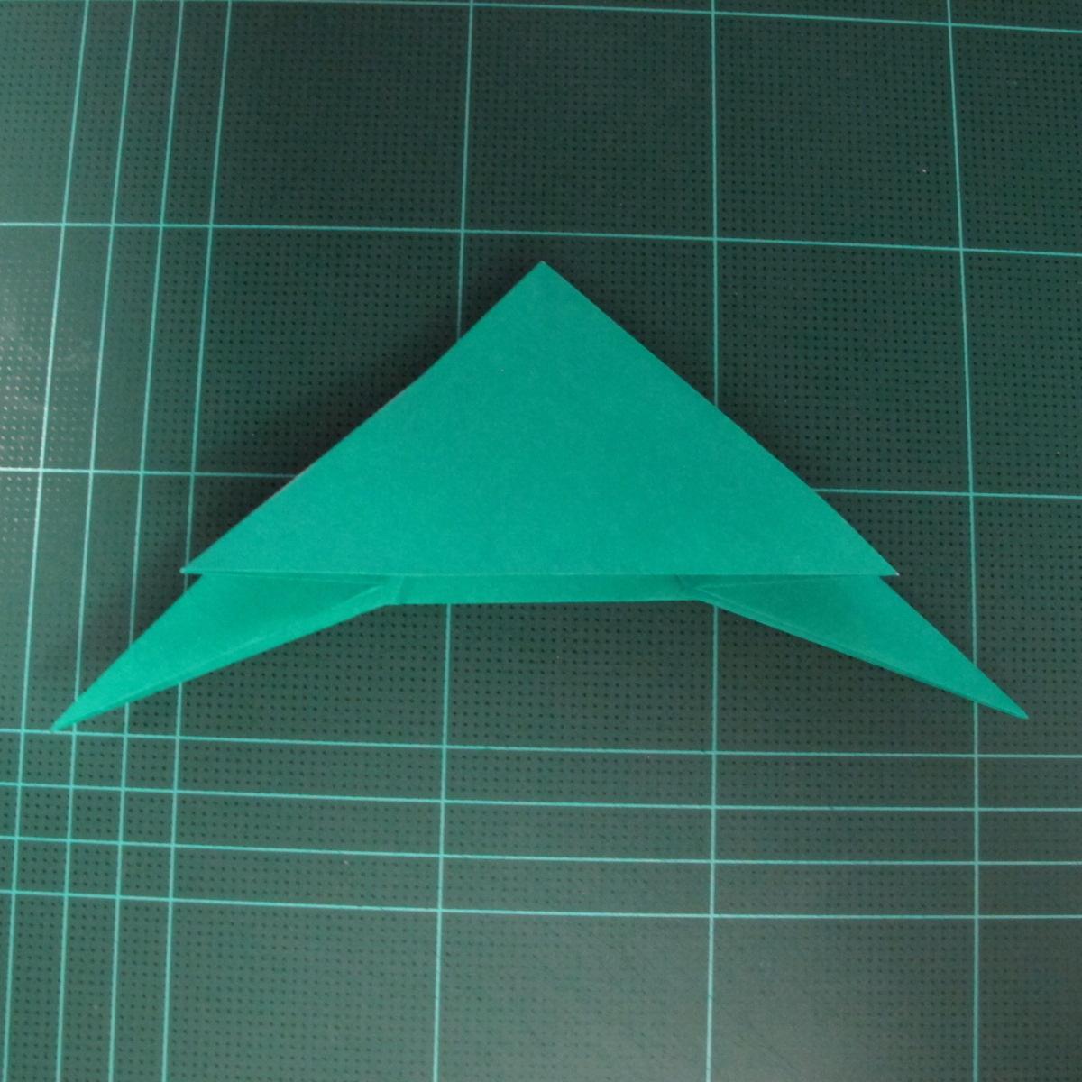 การพับกระดาษเป็นรูปเรือมังกร (Origami Dragon Boat) 018