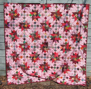 """""""Scrapitude"""" mystery quilt"""